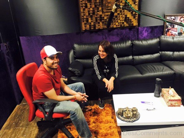 Mika Singh With Sonakshi