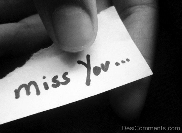 Miss You Image- Dc 4073