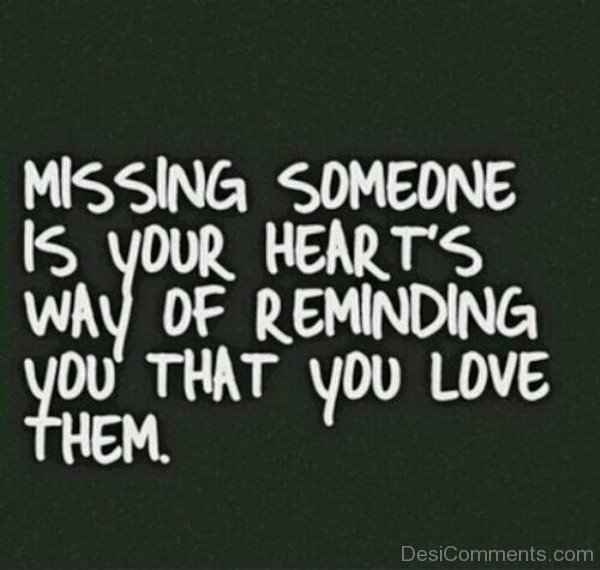 Missing Someone Is Your Heart's-qac450DC49