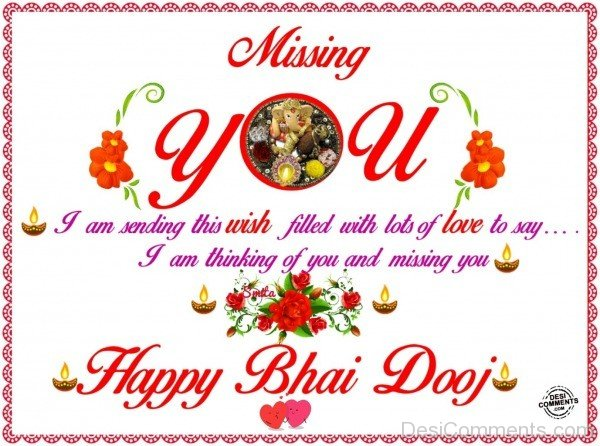 Missing You Bro - Happy Bhai Dooj