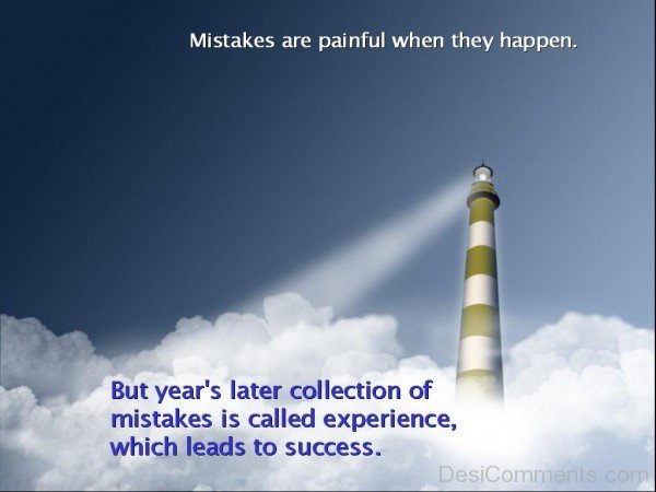 Mistakes Are painful-DC001DC10