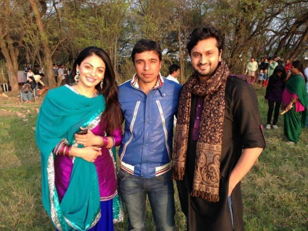 Neeru Bajwa And Roshan Prince