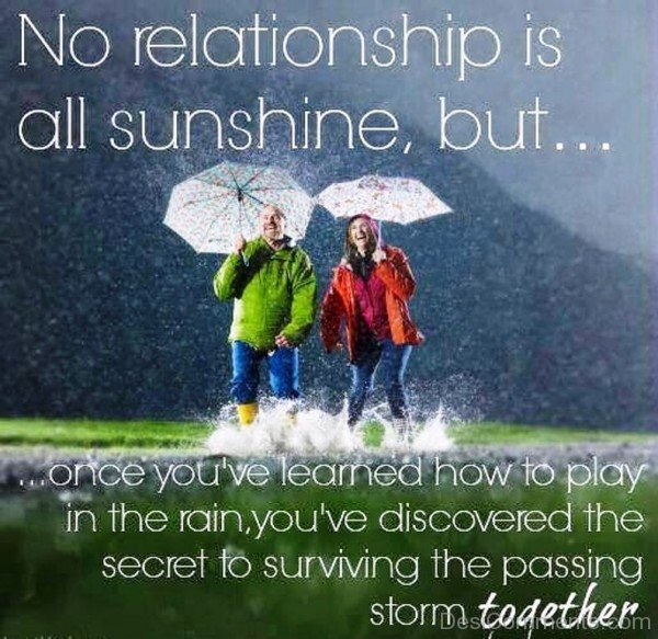 No Relationship Is All Sunshine- DC 32067