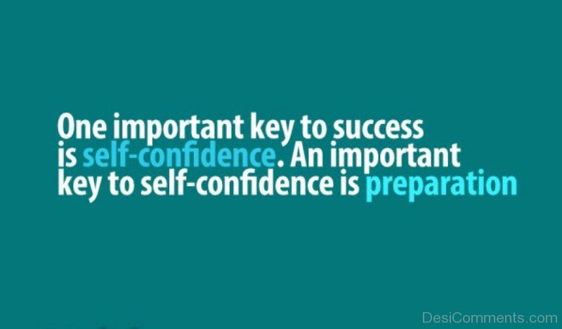 self confidence and success Self-confidence is hugely important to having a happy and successful life and career lacking self-confidence, can lead to an unhappy and unsuccessful.