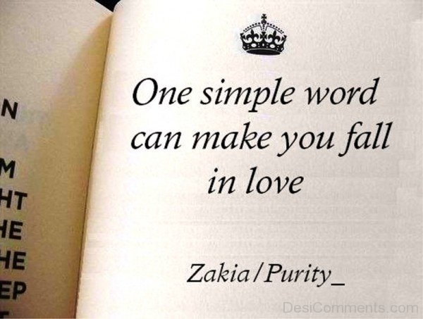 One Simple Word Can Make You Fall In Love-kj82709DC0DC23