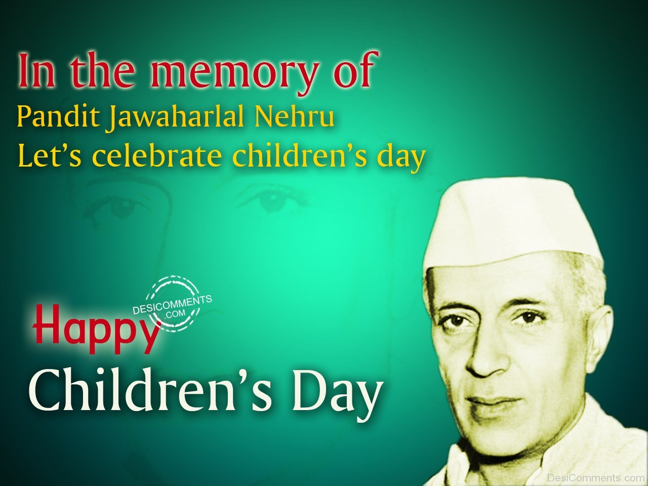 Best Chacha Nehru Jayanti HD Wallpapers for Free Download