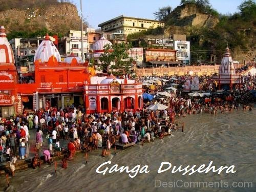People Celebrate Ganga Dussehra