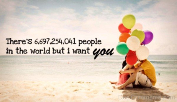 People In the World I Want You- DC 32071