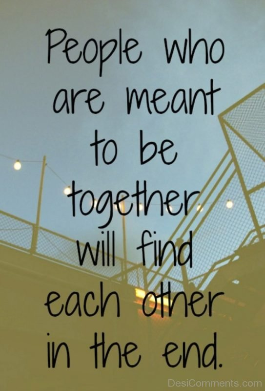 People Who Are Meant To be Together-Dc153