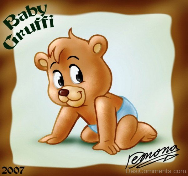 Picture Of Baby Gummi Bear-DC62424