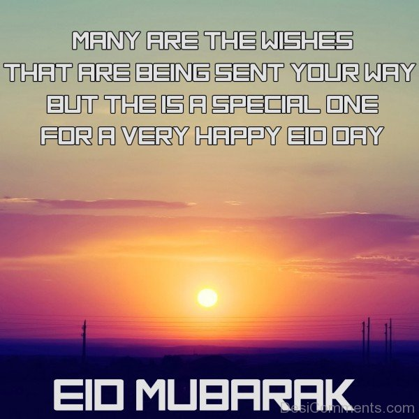 Picture Of Eid Mubarak