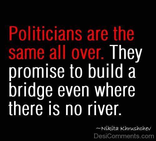 Politicians Are The Same All Over