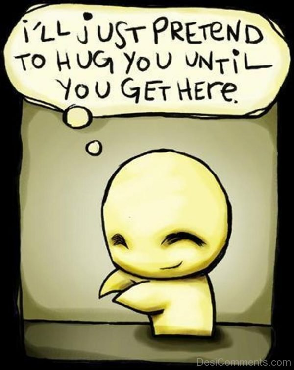 Pretend to hug you-DC093