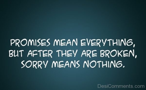 Promise Mean Everything