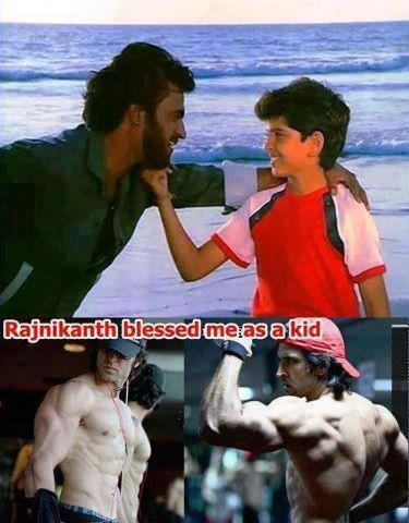 Rajnikanth Blessed Me As A Kid