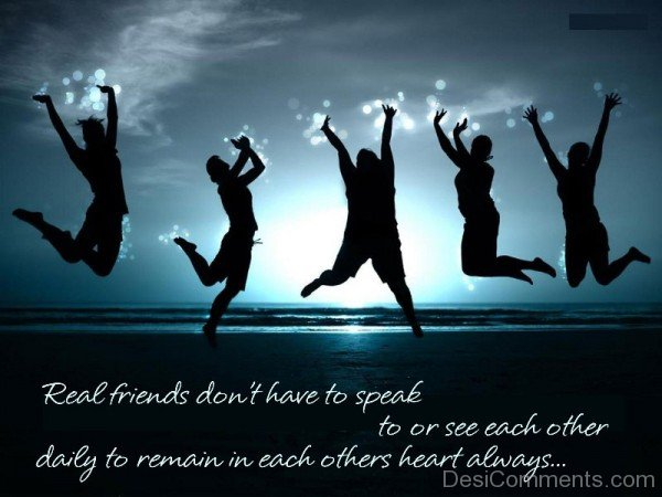Real Friends  Remain In Each Other Hearts Always-DC086
