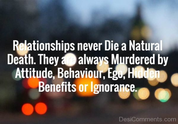 Relationships Never Die-Dc159