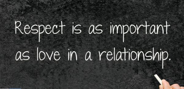 Respect Is As Important As Love In A Relationship-dc462