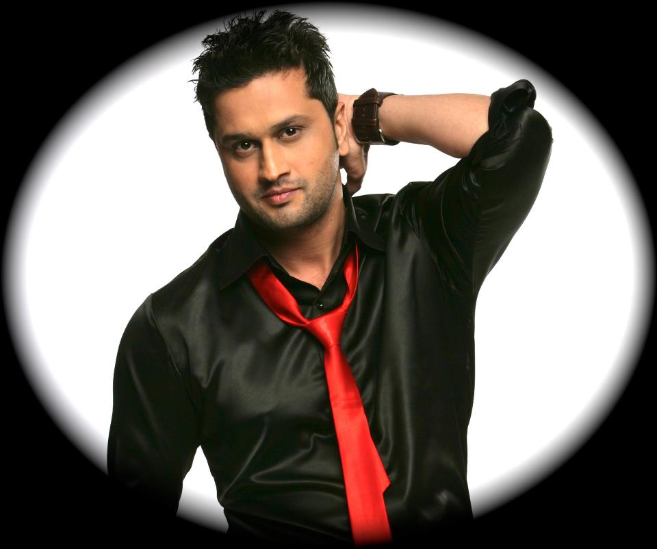 Roshan prince wearing red tie with black shirt for Black shirt black tie