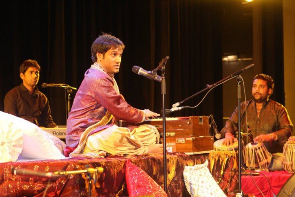 Saleem During A Stage Show