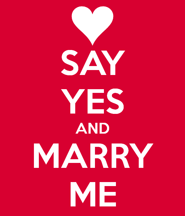 Say Yes And Marry Me-ry618DC01003