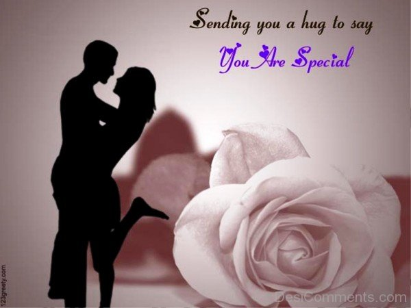 Sending You A Hug To Say You Are Special- dc 77094