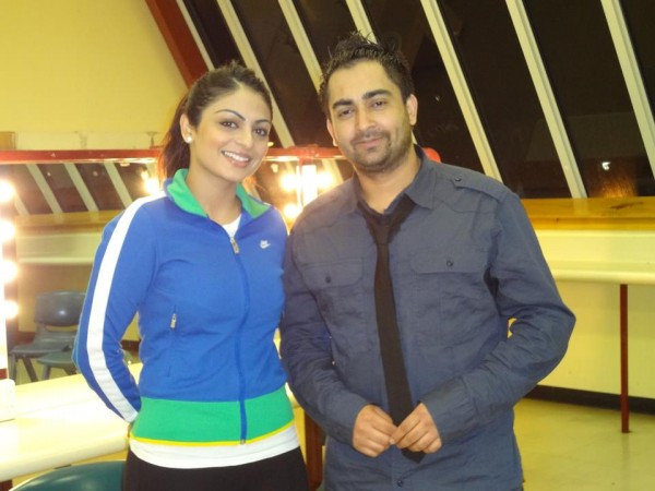 Sherry Maan With Neeru Bajwa