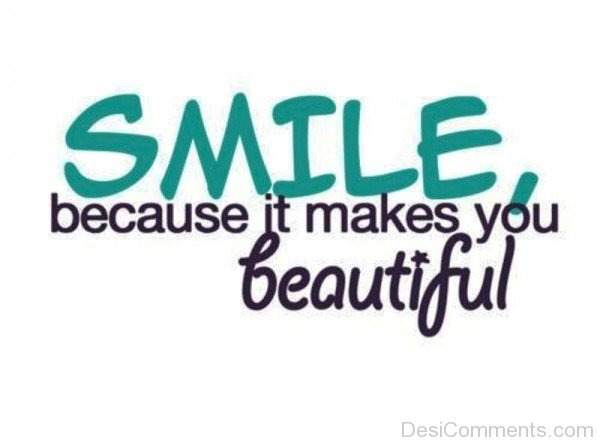 Smile Because It Makes You Beautiful-ybe2040DC024