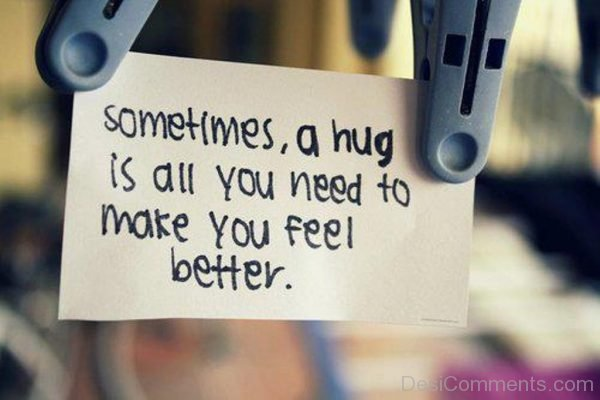 Sometimes A Hug Is All You Need-DC100