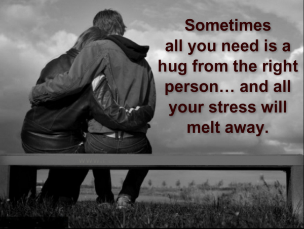 Sometimes All You Need Is A Hug-DC129