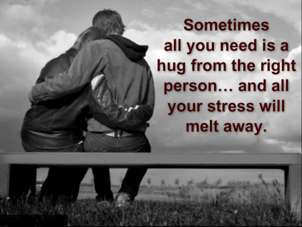 Sometimes All You Need Is A Hug FromThe Right Person-lkj522