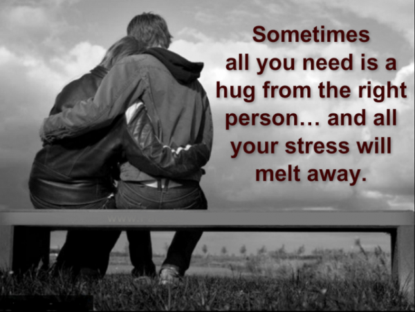 Sometimes All You Need Is A Hug