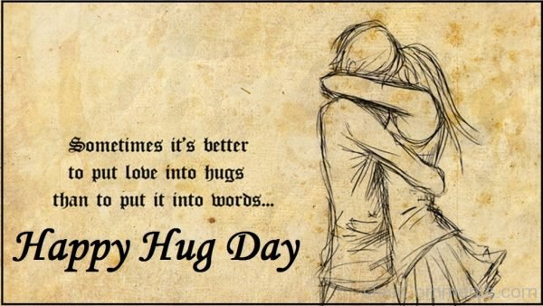 Sometimes It's Better To Put Love Into Hugs-DC101