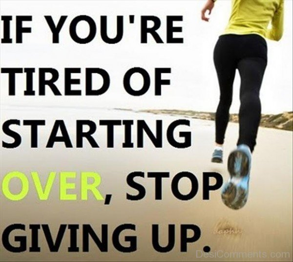 Stop Giving Up-DC987DC081