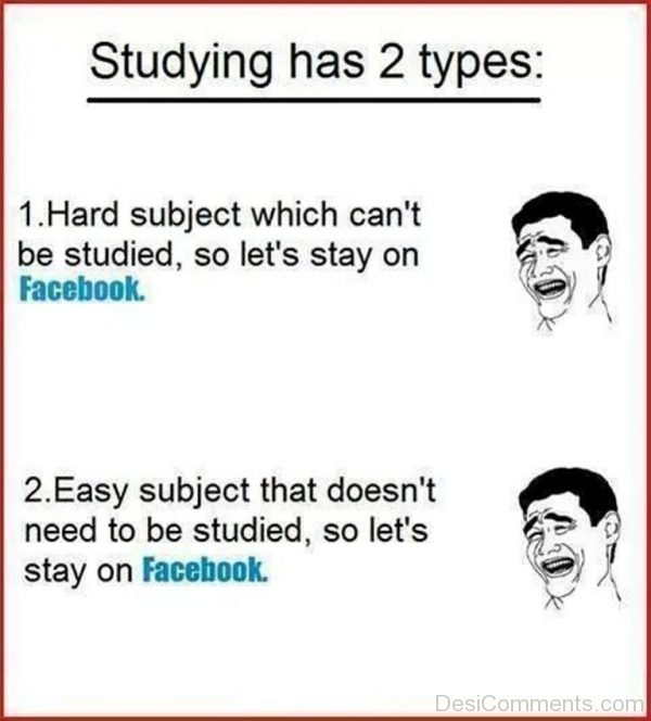 Studying Has Two Types-DC129