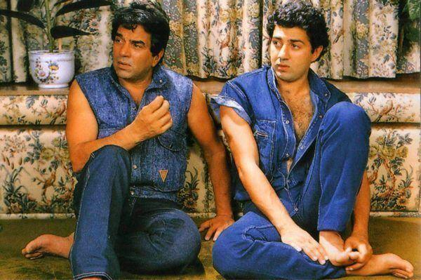 Dharmendra Deol And Sunny Deol