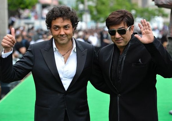 Sunny Deol With Bobby Deol