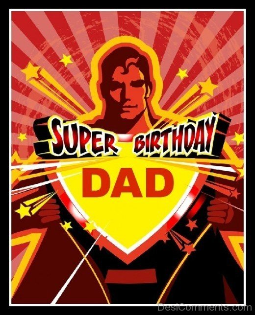 Picture: Super Birthday Dad