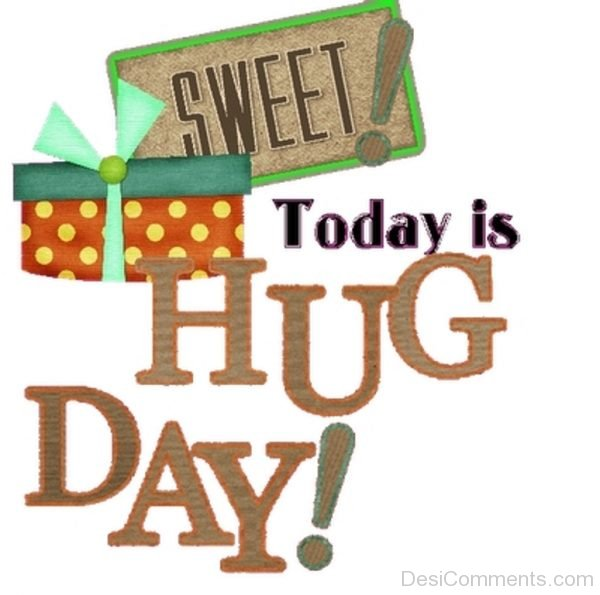 Picture: Sweet Today Is Hug Day