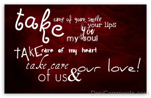 Take Care Of Your Smile