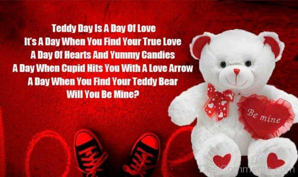 Teddy Day Is A Day Of Love