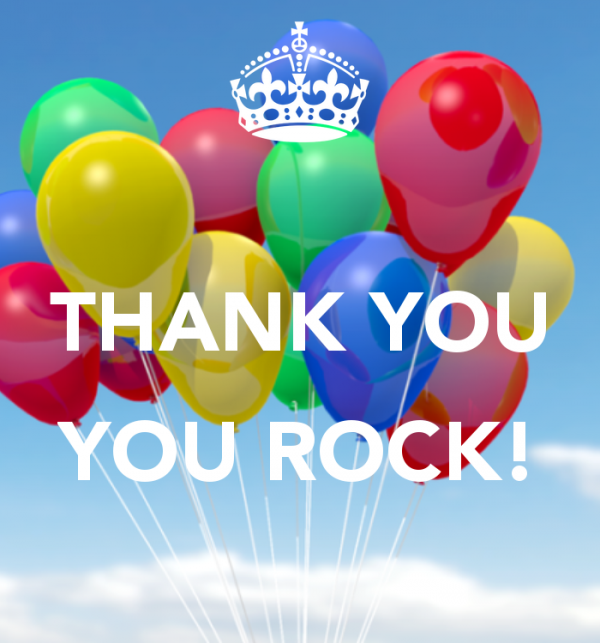 Picture: Thank You You Rock