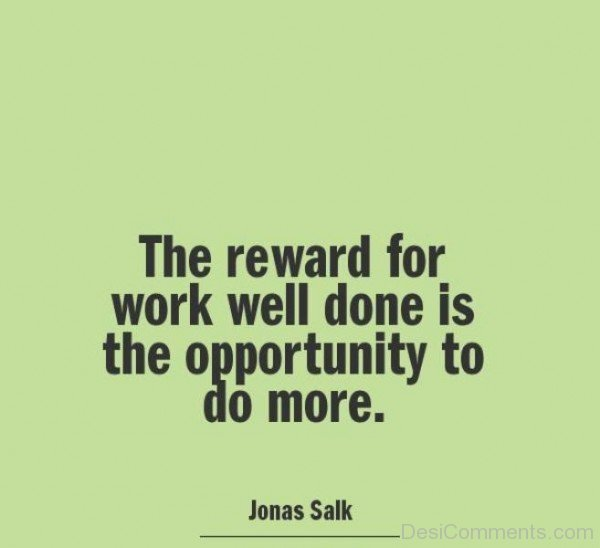 The Opportunity To Do More