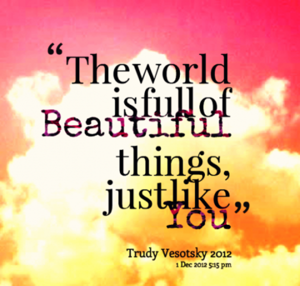 The World Is Full Of Beautiful Things-DC068