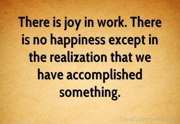 There Is Joy In Work-DC28