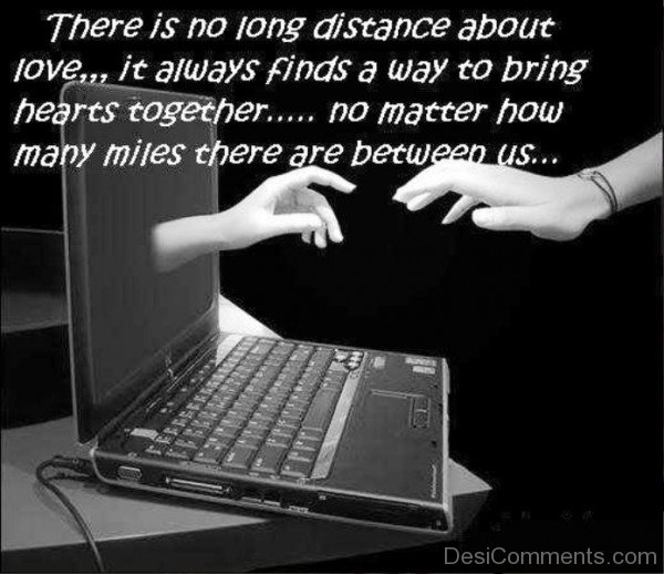 There is no long distance about love- DC551