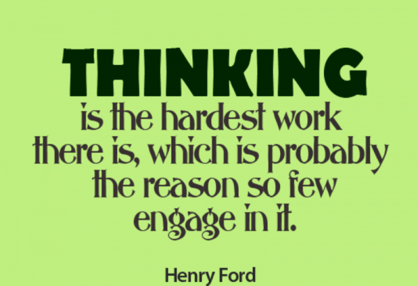 Thinking Is The Hardest Work-DC48
