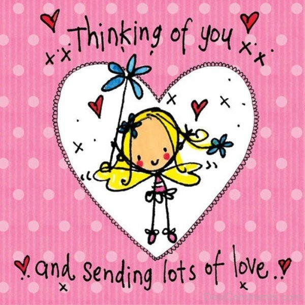 Lots Of Love And Kisses Quotes : Thinking of you pictures images graphics for facebook