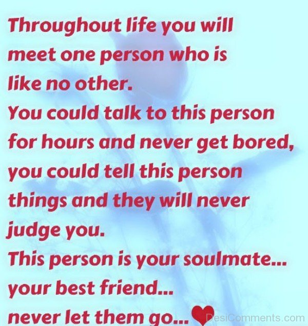 This person is your soulmate your best friend-DC087