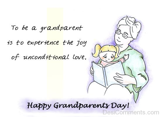 Picture: To Be A Grandparent Is To Experience The Joy Of Unconditional Love
